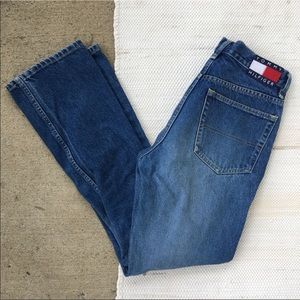 Tommy Hilfiger Tommy girl high waisted jeans